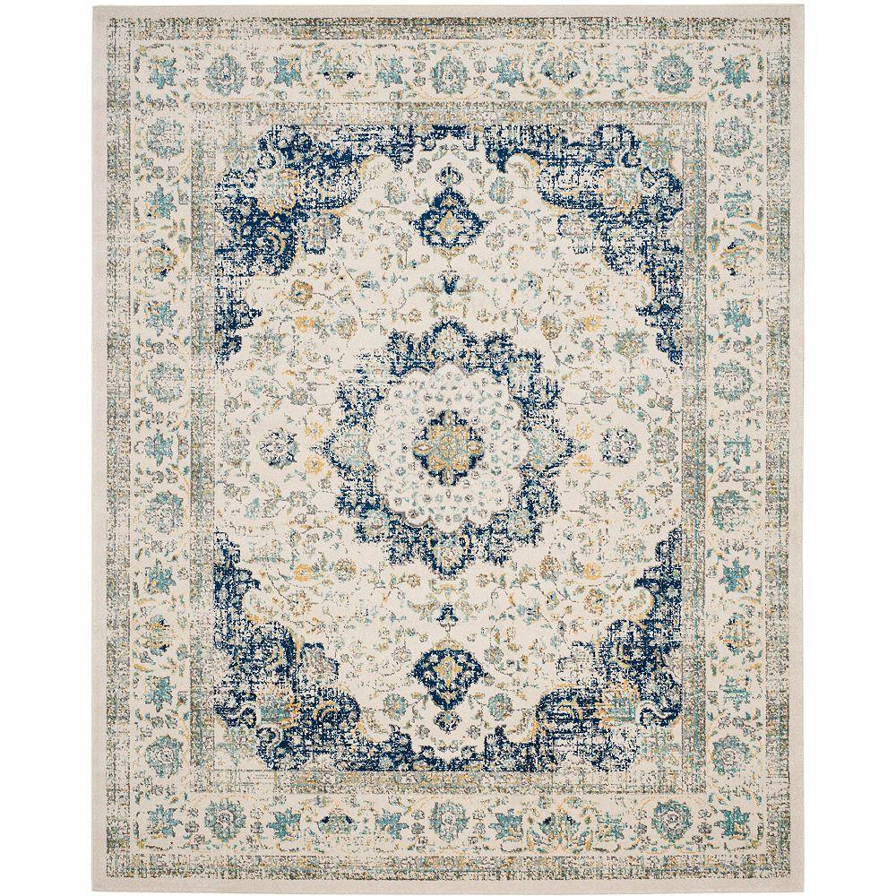 Safavieh Evoke Jaime Ivory / Blue 8 ft. x 10 ft. Indoor Area Rug