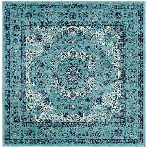Safavieh Evoke Jaime Light Blue 5 ft. 1 inch x 5 ft. 1 inch Indoor Square Area Rug