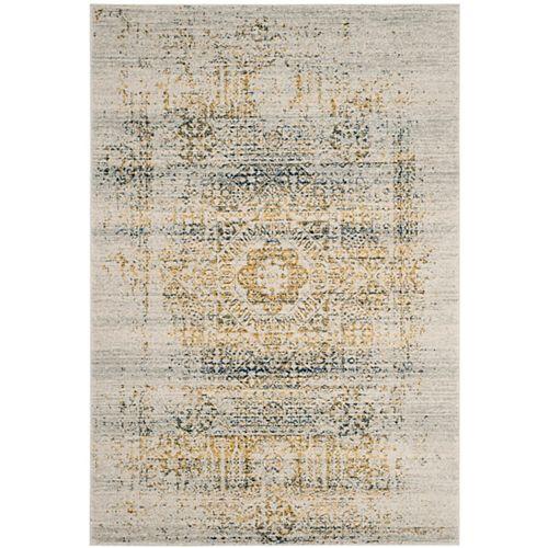 Safavieh Evoke Tucker Ivory / Blue 6 ft. 7 inch x 9 ft. Indoor Area Rug