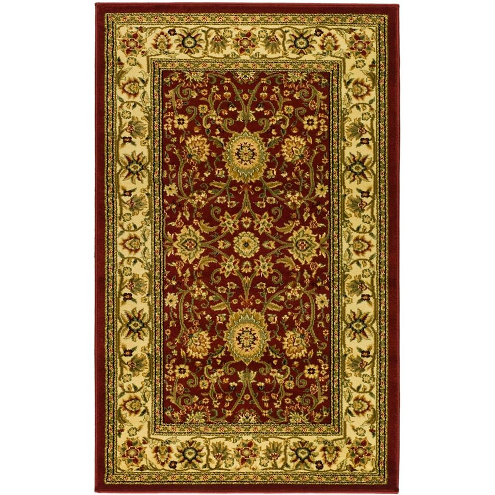 Safavieh Lyndhurst Byron Red / Ivory 3 ft. 3 inch x 5 ft. 3 inch Indoor Area Rug