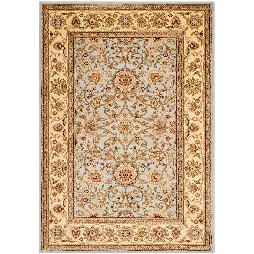 Safavieh Tapis d'intérieur, 6 pi x 9 pi, Lyndhurst Byron, gris / beige