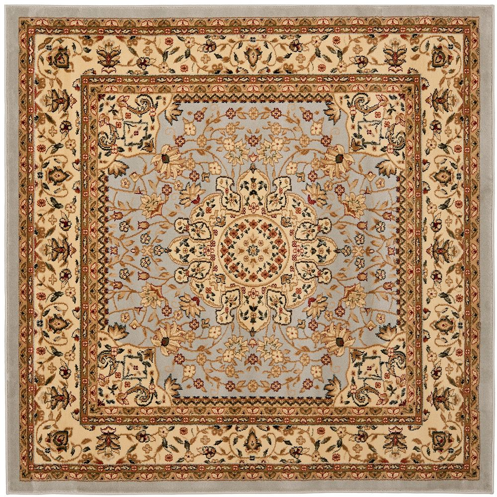 Safavieh Lyndhurst Eva Grey Beige 5 Ft X 5 Ft Indoor Square Area Rug The Home Depot Canada