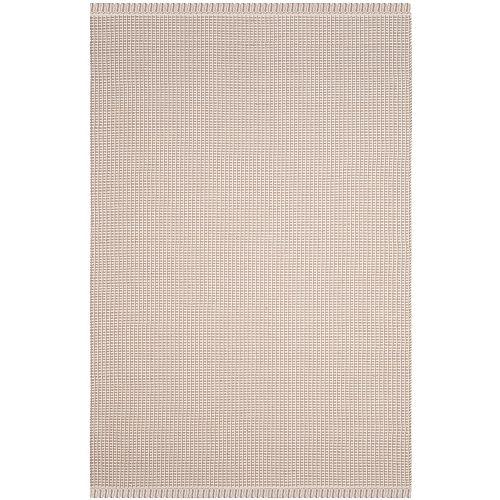 Tapis d'intérieur, 6 pi x 9 pi, Montauk George, ivoire / gris