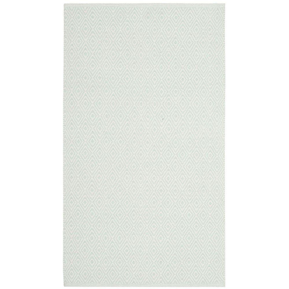 Safavieh Montauk Rachel Ivory / Light Green 2 ft. 6 inch x 4 ft. Indoor Area Rug