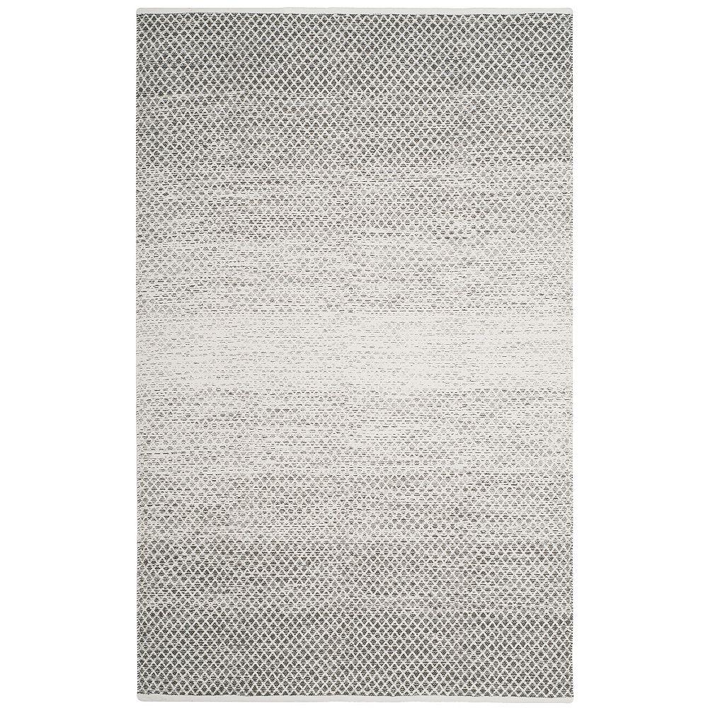 Safavieh Montauk Aimee Light Grey / Ivory 5 ft. x 8 ft. Indoor Area Rug