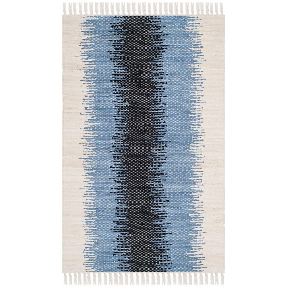 Safavieh Montauk Mort Grey / Black 2 ft. 6 inch x 4 ft. Indoor Area Rug