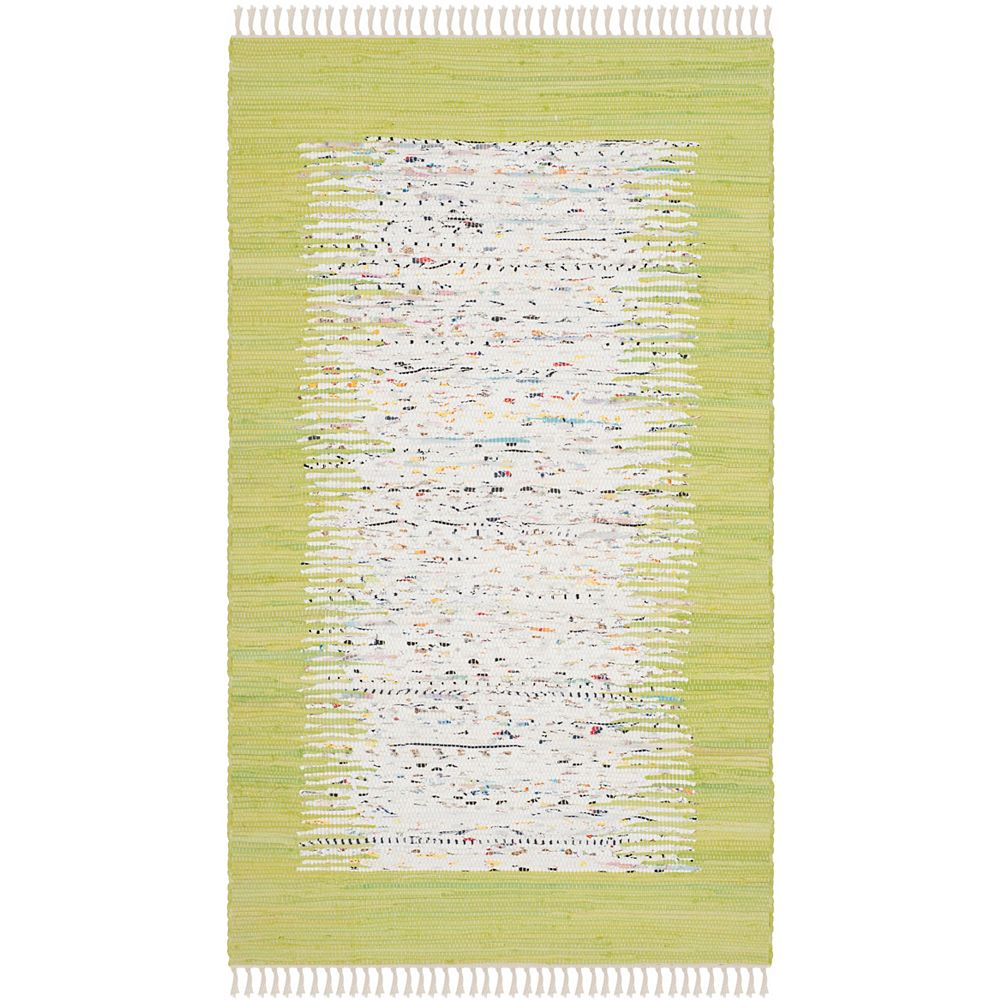 Safavieh Montauk Delroy Ivory Citron 3 Ft X 5 Ft Indoor Area Rug The Home Depot Canada