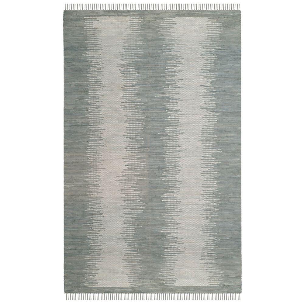 Safavieh Tapis d'intérieur, 6 pi x 9 pi, Montauk Kim, gris