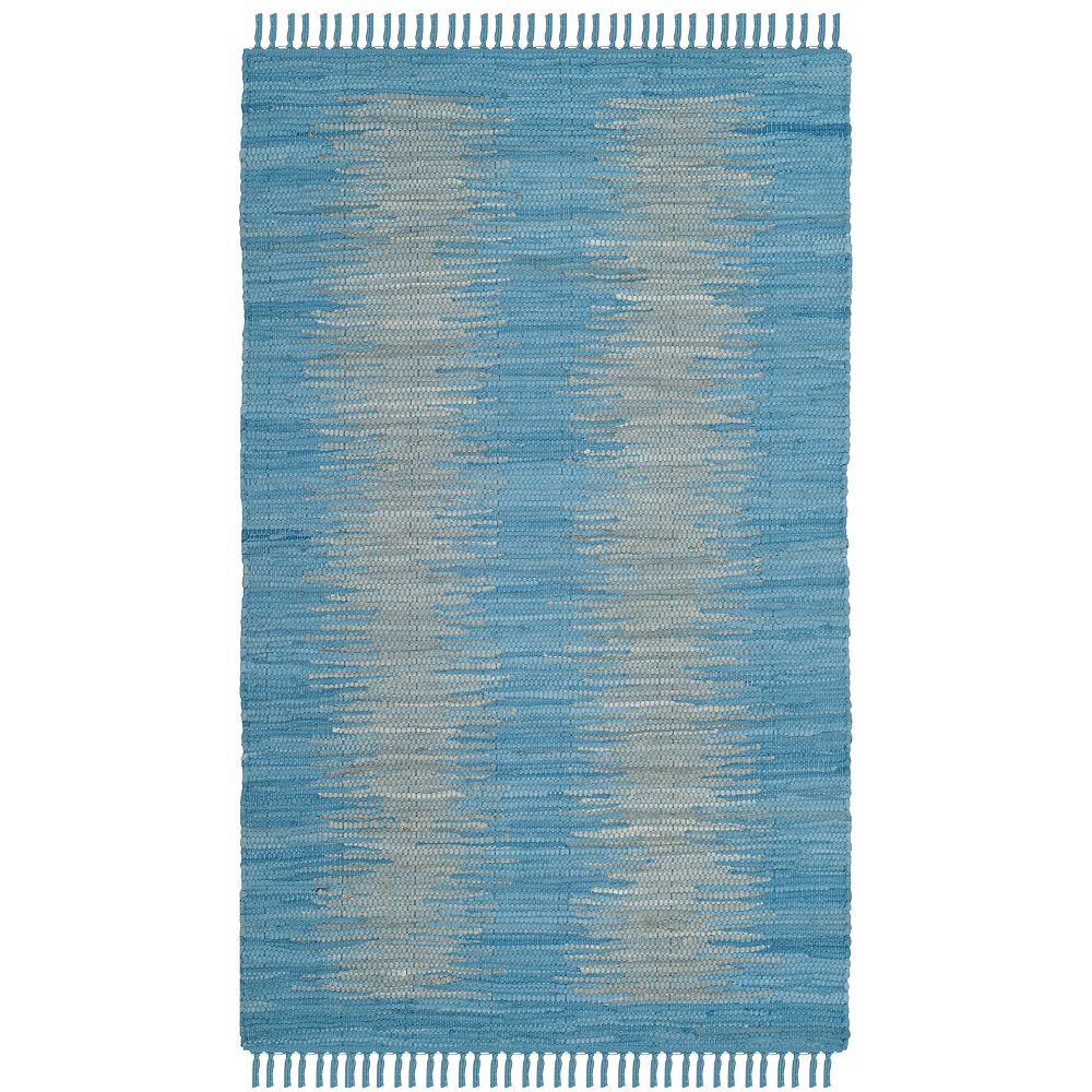 Safavieh Tapis d'intérieur, 2 pi 6 po x 4 pi, Montauk Kim, bleu clair