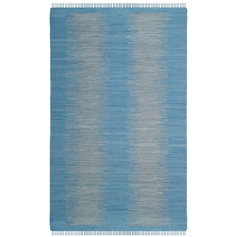 Safavieh Montauk Kim Light Blue 5 ft. x 8 ft. Indoor Area Rug