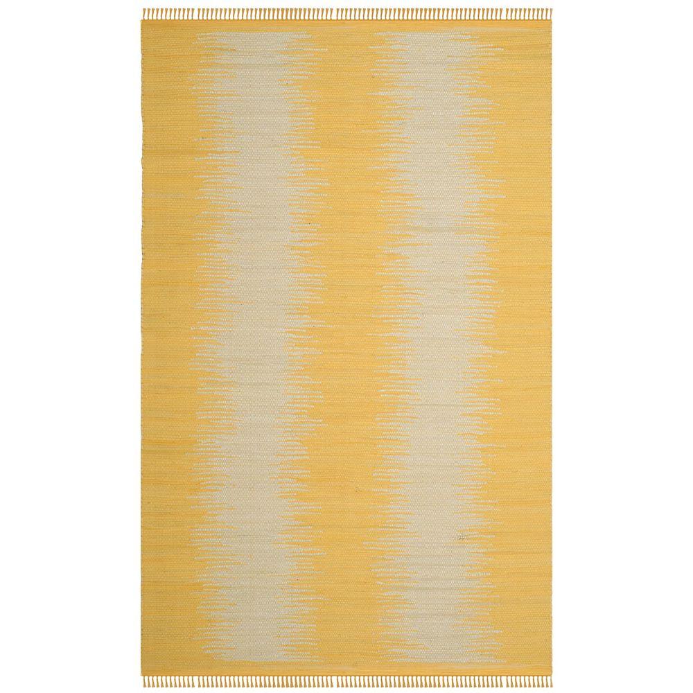 Safavieh Montauk Kim Gold 5 ft. x 8 ft. Indoor Area Rug