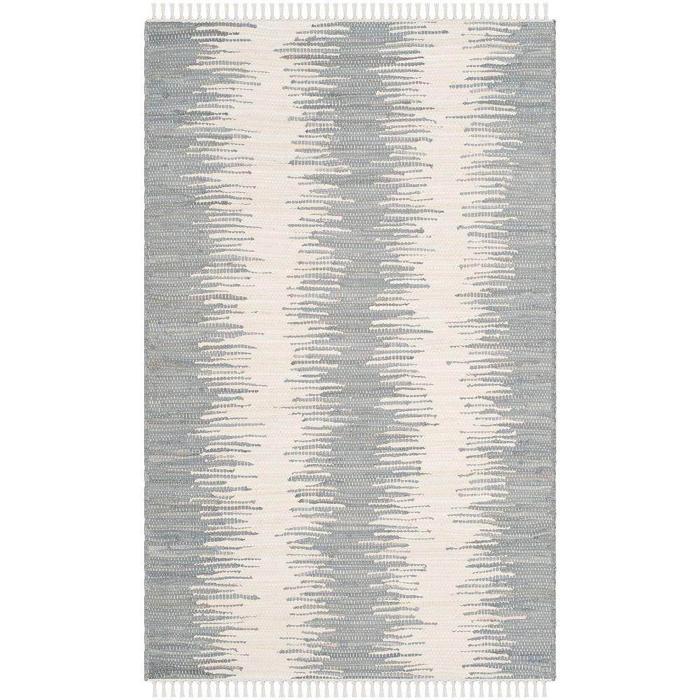 Safavieh Montauk Nelson Grey 2 ft. 6 inch x 4 ft. Indoor Area Rug