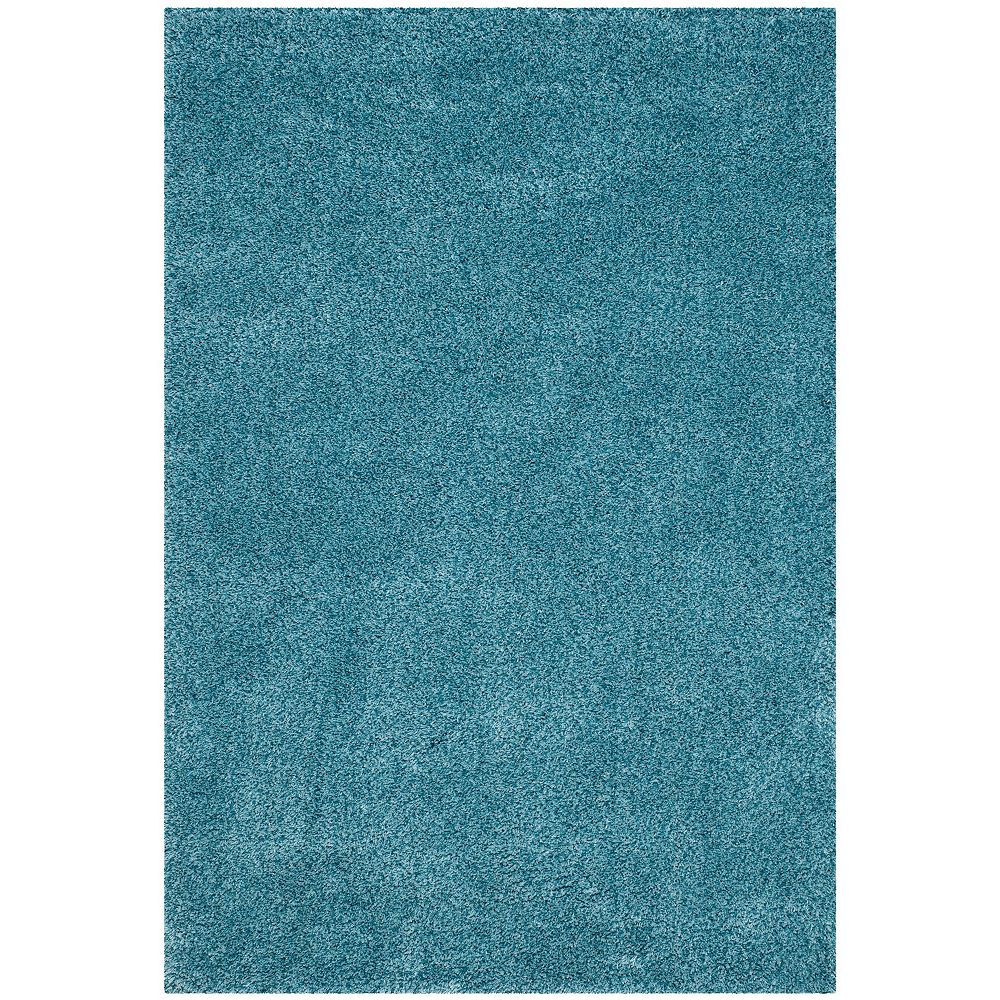 Safavieh Shag Felicia Turquoise 5 ft. 3 inch x 7 ft. 6 inch Indoor Area Rug