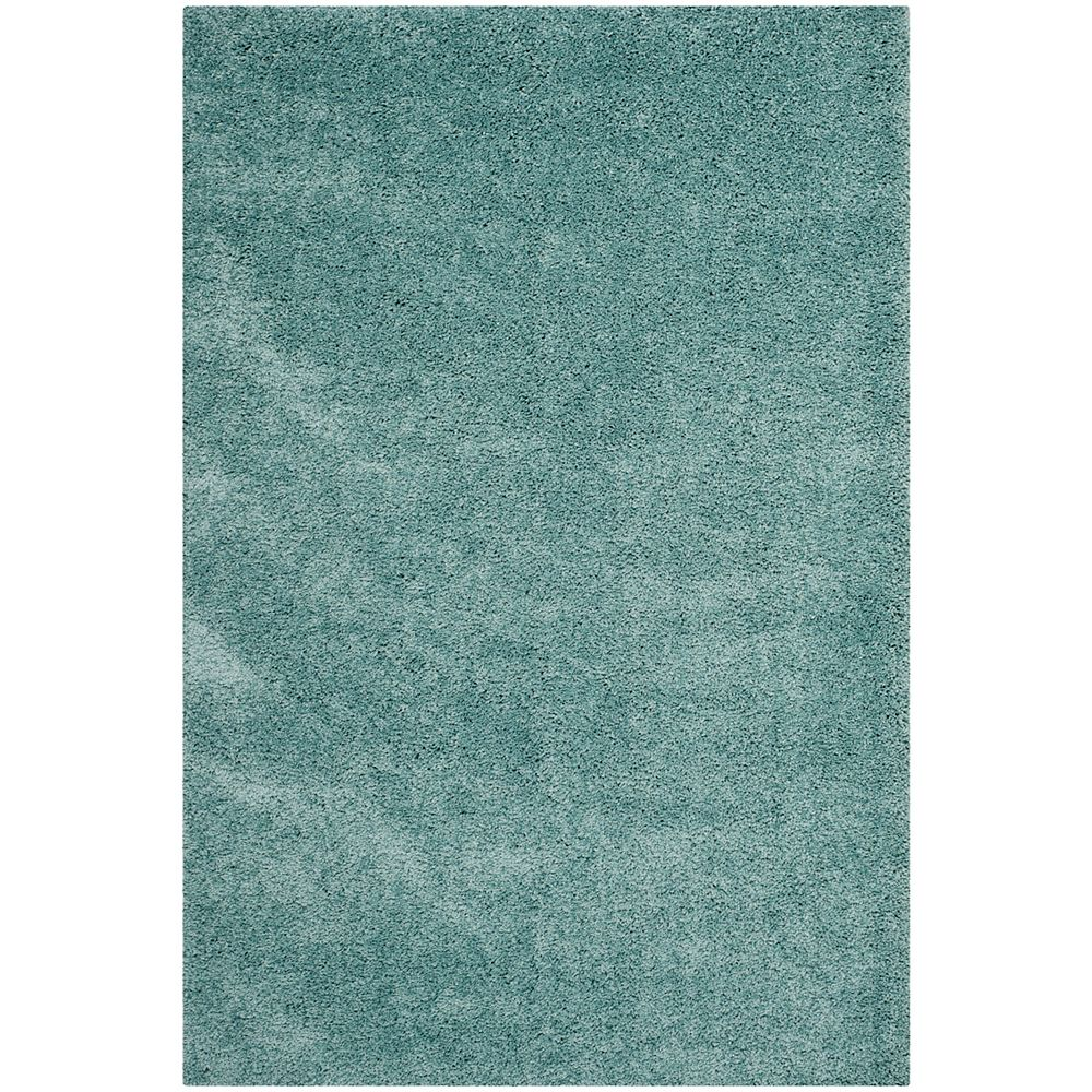 Safavieh Shag Felicia Light Blue 4 ft. x 6 ft. Indoor Area Rug