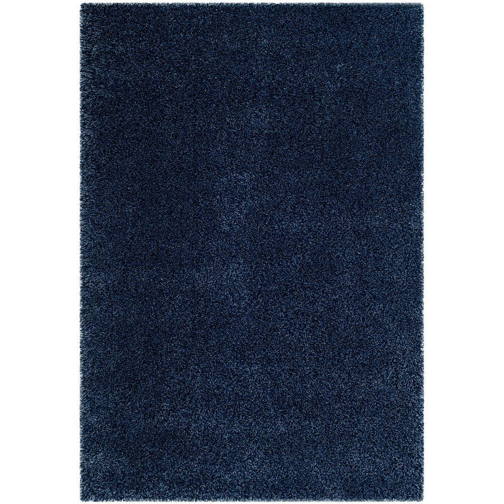 Safavieh Shag Felicia Navy 5 ft. 3-inch x 7 ft. 6-inch Indoor Area Rug