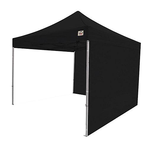 Paroi latérale pour canopées instantanées, 10 x 10 pi, noire, ensemble de 2