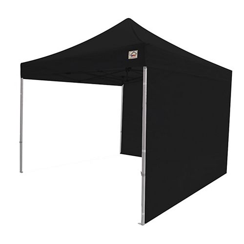 Sidewall Accessory Kit in Black for 10 ft. x 10 ft. Instant Pop Up Canopy (2-Pack)