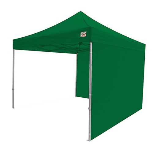 Sidewall Kit for 10x10 Instant Pop Up Canopy - Accessory Kelly Green (2-Pack)