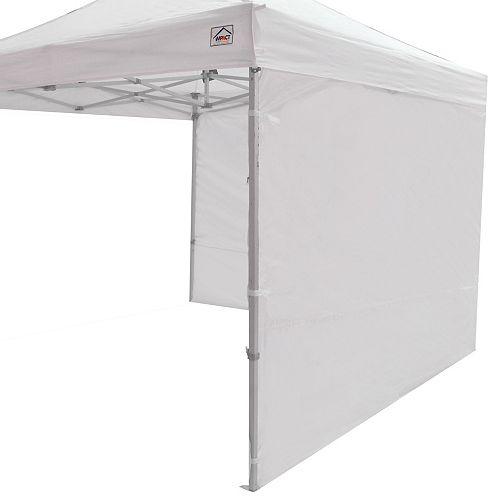 Paroi latérale pour canopées instantanées, 10 x 10 pi, blanche, ensemble de 2