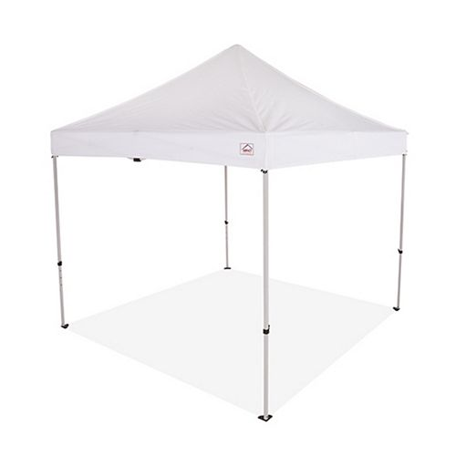 10 ft. x 10 ft. Steel Commercial Grade Pop Up Canopy Event Canopy