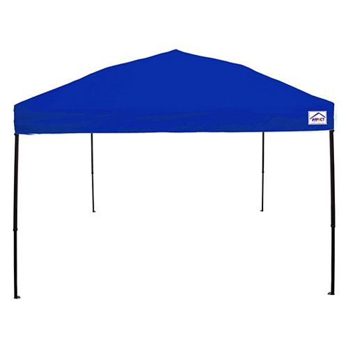 10 ft. x 10 ft. Recreational Grade Steel Sport Pop Up Canopy in Royal Blue