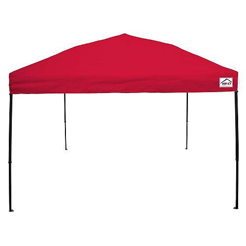 10 Feet x 10 Feet Recreational Grade Steel Sport Pop Up Canopy Red