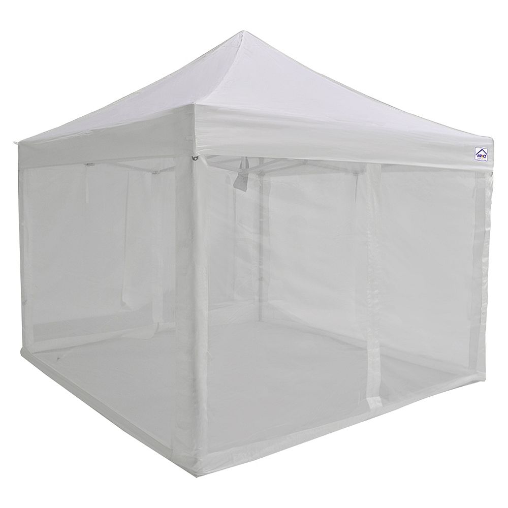 Impact Canopy Bug Screen 4-Wall Kit for 10 ft. x 10 ft ...