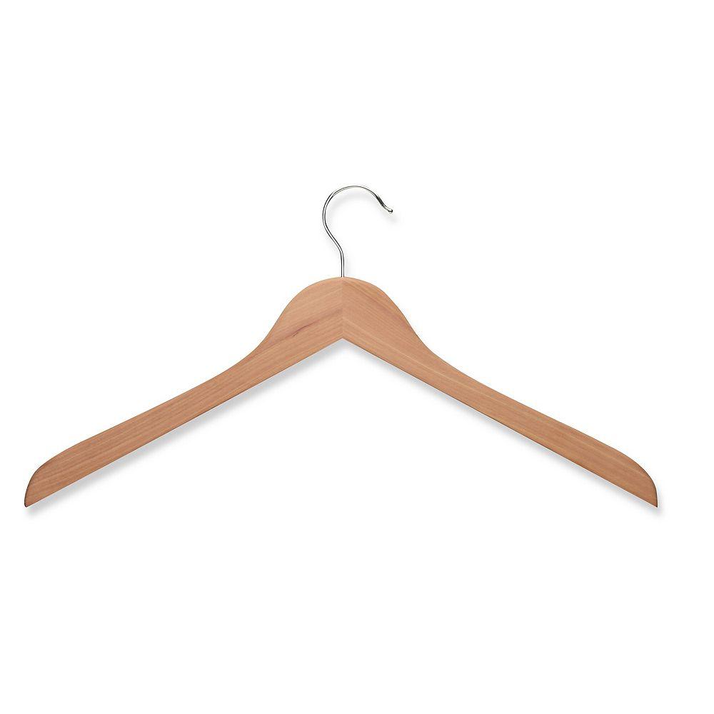 Honey-Can-Do Wood Shirt Hanger- Cedar (10-Pack)
