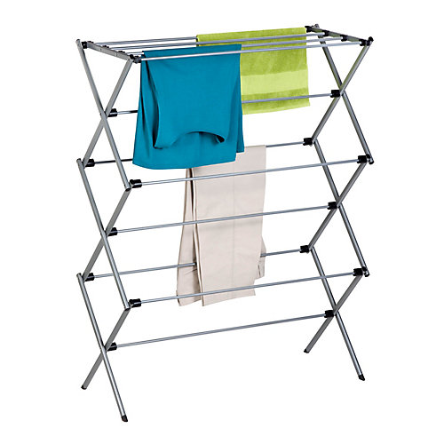 14.5-inch W x 45.5-inchH x 35.5-inch L Oversize Folding Drying Rack