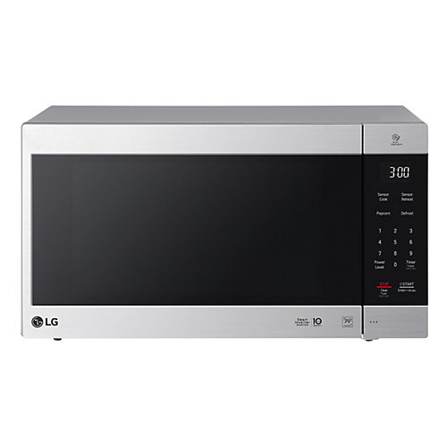 2.0 cu. ft. Counter Top Microwave Oven with NeoChef Smart Inverter in Stainless Steel