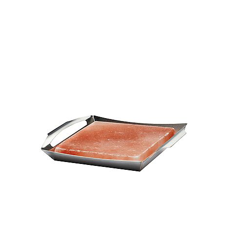 Himalayan Salt Block with PRO Grill Topper