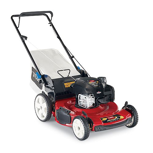 Recycler SmartStow 22-inch High Wheel Gas Push Mower with Briggs and Stratton Engine