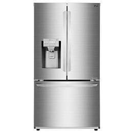 36-inch W 28 cu. ft. French Door Refrigerator in Smudge Resistant Stainless Steel