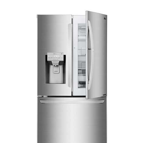 36-inch W 28 cu. ft. French Door Refrigerator with with Door-in-Door® in Smudge Resistant Stainless Steel - ENERGY STAR®