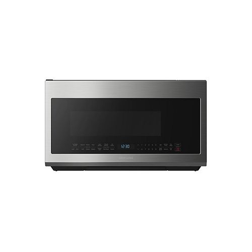 2.1 cu. ft. Over the Range Microwave in Fingerprint Resistant Stainless Steel with Sensor Cooking