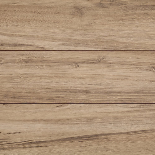 12+2 mm Thick x 6 1/4-inch W x 54 9/20-inch L Docked Oak Laminate Flooring (16.57 sq. ft. / case)