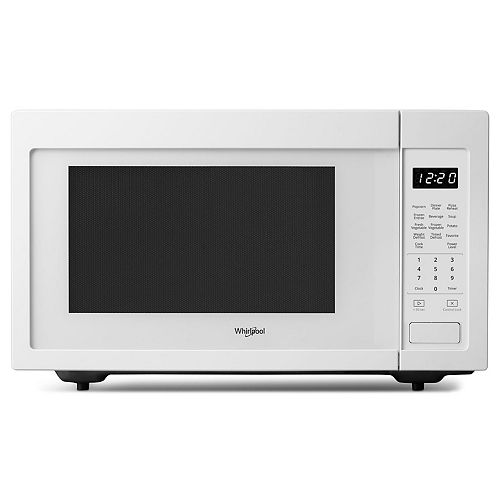 Comptoir de 1,6 pi3 Micro-ondes en blanc
