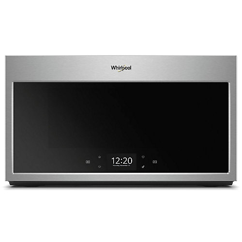 1.9 cu. ft. Smart Over the Range Microwave in Fingerprint Resistant Stainless Steel