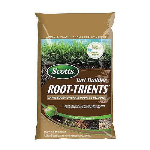 Turf Builder 27-0-4 Lawn Food with Root-Trients