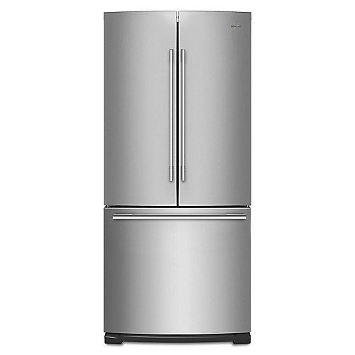 30-inch W 19.7 cu. ft. French Door Refrigerator in Fingerprint Resistant Stainless Steel - ENERGY STAR®