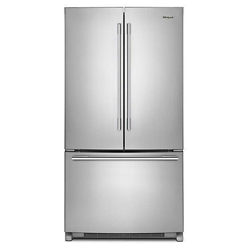 36-inch W 25 cu .ft. French Door Refrigerator with Fingerprint Resistant Stainless Steel - ENERGY STAR®