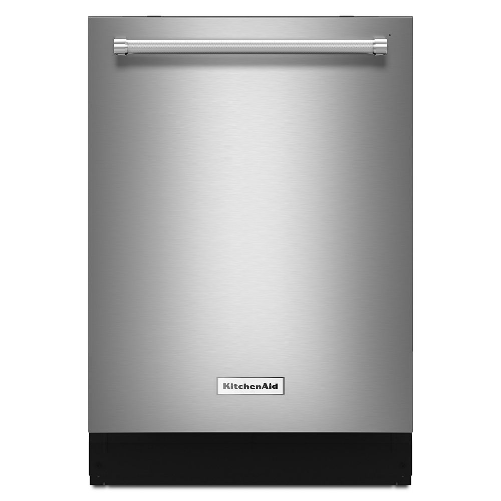 KitchenAid Top Control Dishwasher in Stainless Steel with Stainless Steel Tub, 46 dBA - ENERGY STAR®