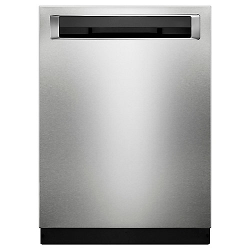Top Control Built-In Dishwasher with 3rd Rack in PrintShield Stainless Steel, 46 dBA