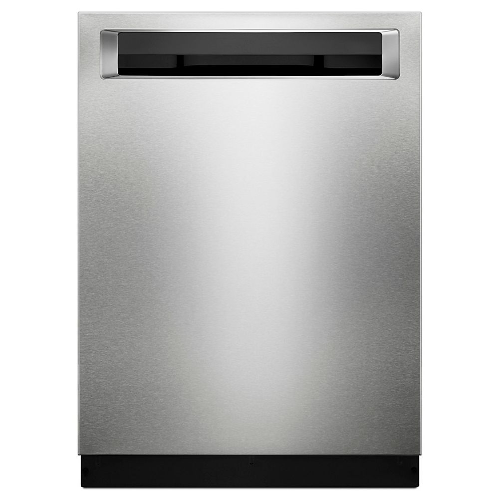 KitchenAid Top Control Built-In Dishwasher with 3rd Rack in PrintShield Stainless Steel, 46 dBA