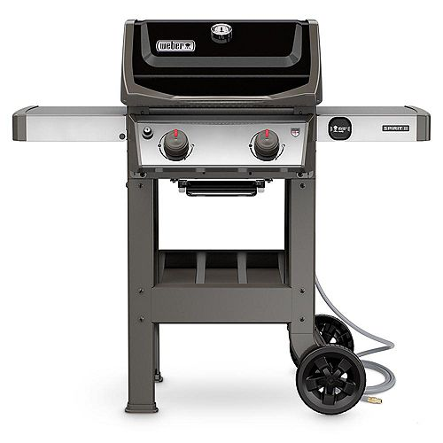 Spirit II E-210 2-Burner Natural Gas BBQ in Black