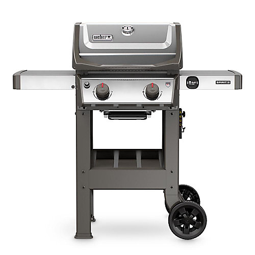 Spirit II S-210 2-Burner Propane Gas BBQ in Stainless Steel