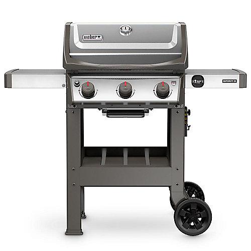 Spirit II S-310 3-Burner Propane BBQ in Stainless Steel