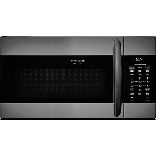 30-inch W 1.5 cu. ft. Over the Range Convection Microwave in Smudge-Proof Black Stainless Steel