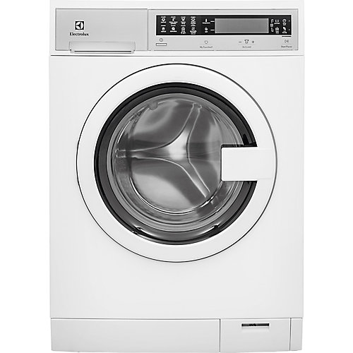 24-inch W 2.4 cu. ft. High Efficiency Front Load Washer with Steam in White - ENERGY STAR®