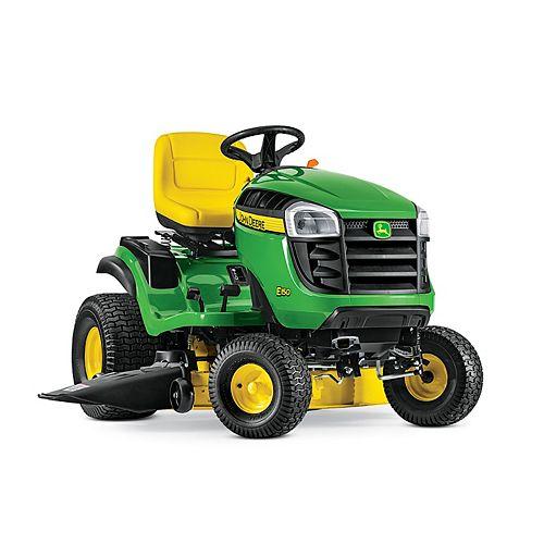 Tracteur de pelouseà essence avec transmission hydrostatique E150, 2cyl. 48 po, 22 HP